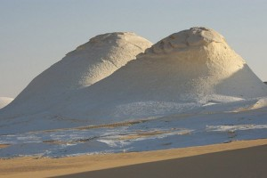 Η άσπρη έρημος της Αιγύπτου