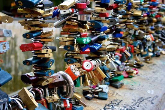 Perierga.gr - Οι κλειδαριές της αγάπης
