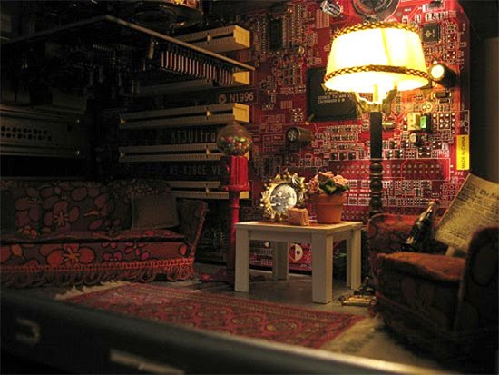 Perierga.gr - Δωμάτιο σε ηλεκτρονικό υπολογιστή