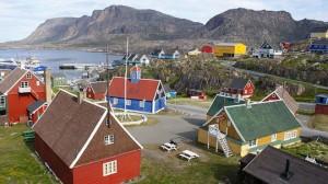 Πολύχρωμα σπίτια στη Γροιλανδία!