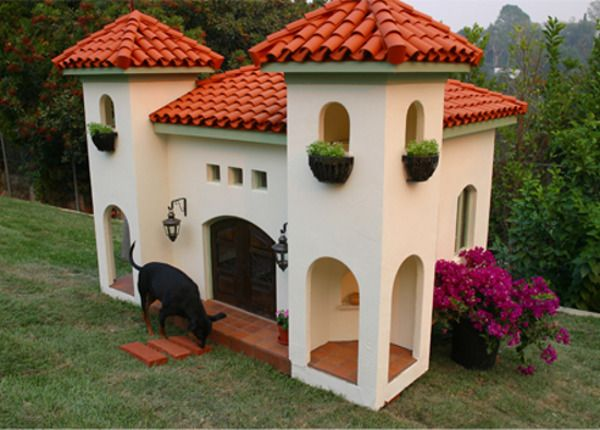 Perierga.gr - Βίλες για... σκύλους!