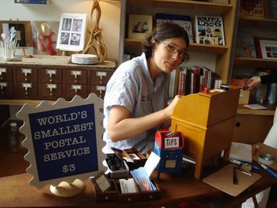 Perierga.gr - Το μικρότερο ταχυδρομείο του κόσμου