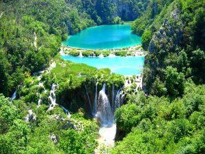 Παραμυθένιες λίμνες στην Κροατία