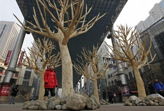 Perierga.gr - Τα chopsticks γίνονται πάλι δέντρα