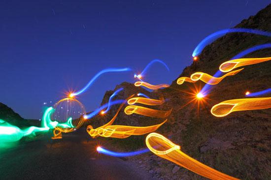 Perierga.gr - Ζωγραφίζοντας με φως