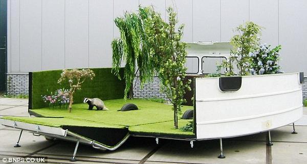 Perierga.gr - Κινητός κήπος