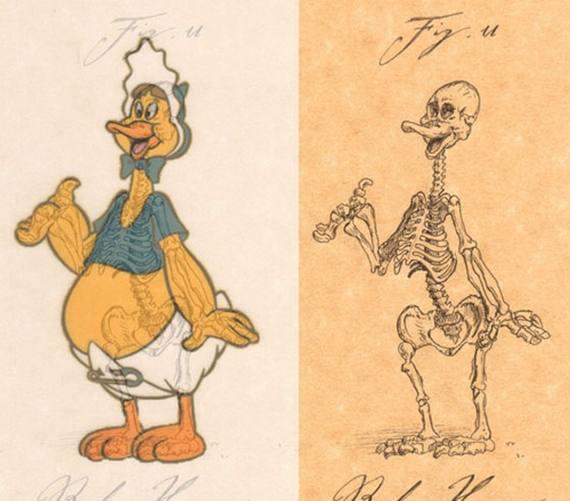 Perierga.gr - Ο σκελετός καρτούν!
