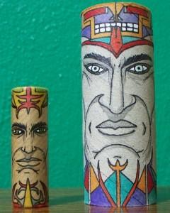 Εντυπωσιακές φιγούρες σε ρολά χαρτιού!