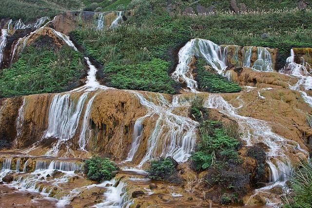 Perierga.gr - Χρυσός καταρράκτης στην Ταϊβάν