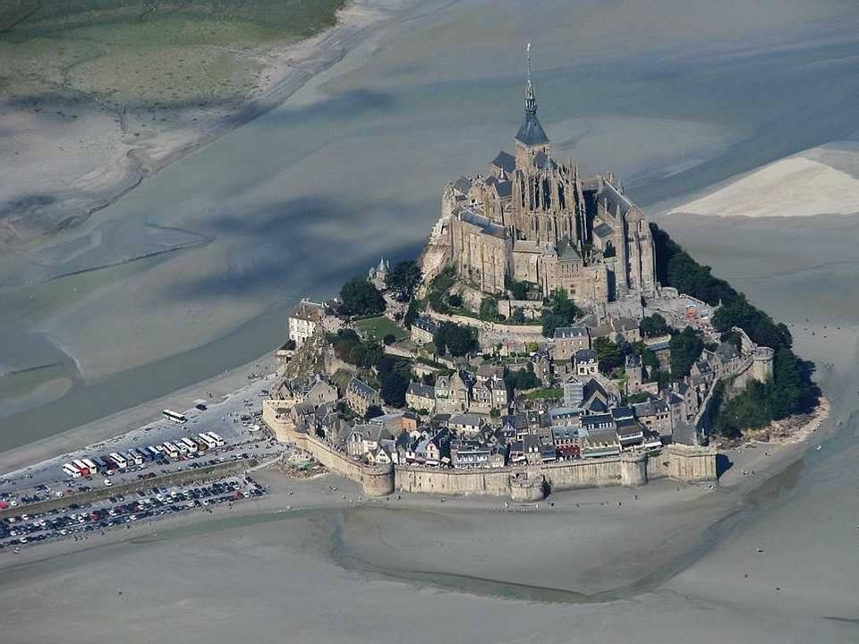 Perierga.gr - Mont Saint Michel, Γαλλία