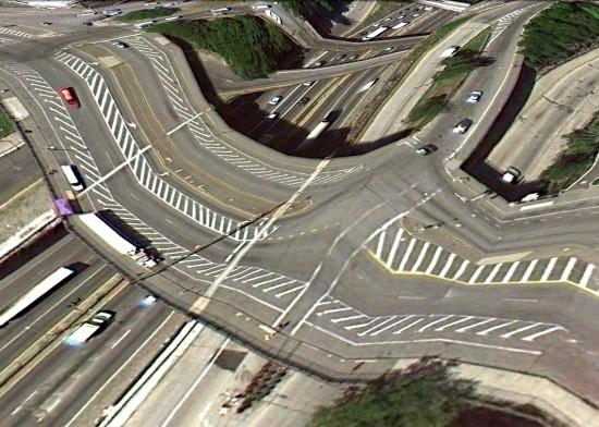 Perierga.gr - Γέφυρες από το Google Earth!