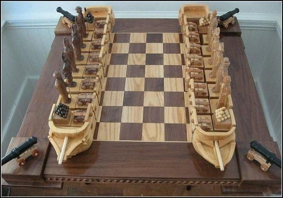 Perierga.gr - Σκάκι για ναυμαχία