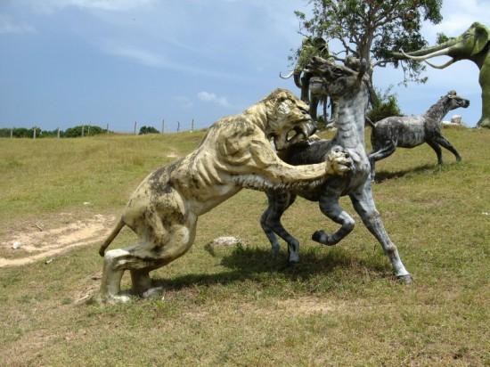 Perierga.gr - Πάρκο προϊστορίας στην Κούβα