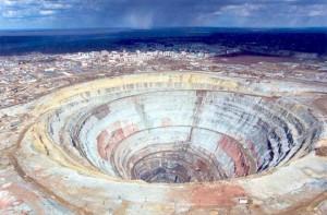 Το μεγαλύτερο αδαμαντορυχείο στον κόσμο