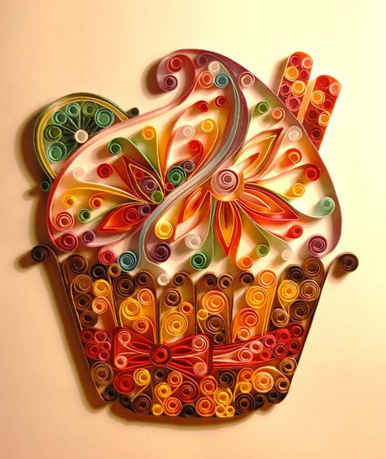 Perierga.gr - Έργα τέχνης με λωρίδες χαρτιού