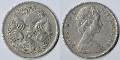 Perierga.gr - Η Αυστραλία καταργεί το νόμισμα των 5 σεντς