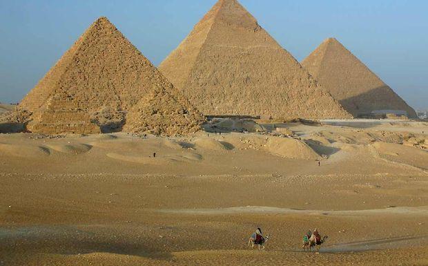 Perierga.gr - Ο δορυφόρος βρήκε χαμένες πυραμίδες