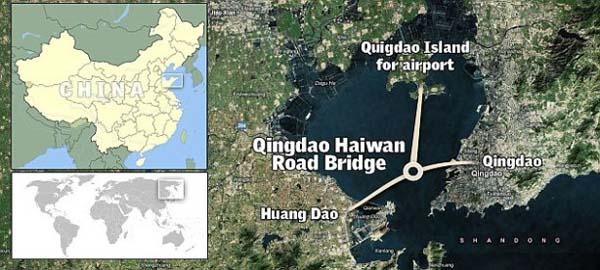 Perierga.gr - Η μακρύτερη γέφυρα σε θάλασσα
