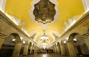 Μετρό Μόσχας, το ομορφότερο στον κόσμο!