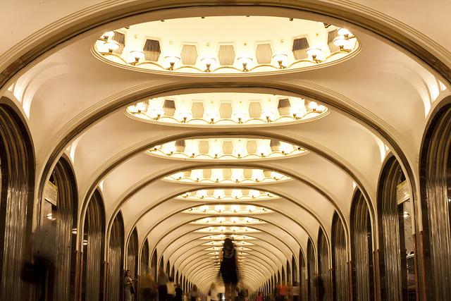 Perierga.gr - Το μετρό της Μόσχας