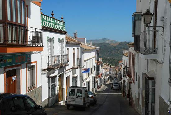 Ισπανική Olvera, κατάλευκη και γραφική