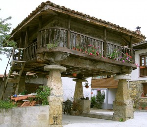 Horreo: Κτήρια στον ...αέρα στην Ισπανία