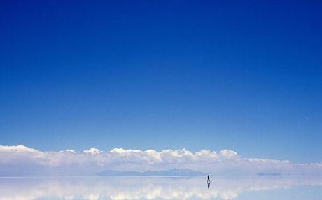 Perierga.gr - Όταν γη και ουρανός γίνονται ένα