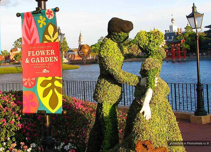 Φεστιβάλ λουλουδιών με ήρωες του Disney