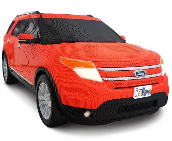 Perierga.gr - Aυτοκίνητο LEGO σε πραγματικές διαστάσεις