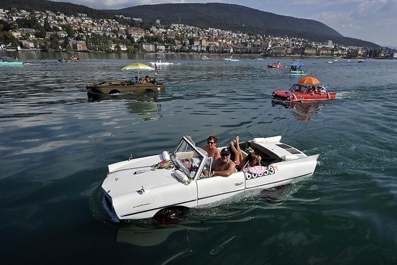 Perierga.gr - Αμφίβια αυτοκίνητα