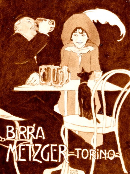 Perierga.gr - Πορτραίτα από μπύρα