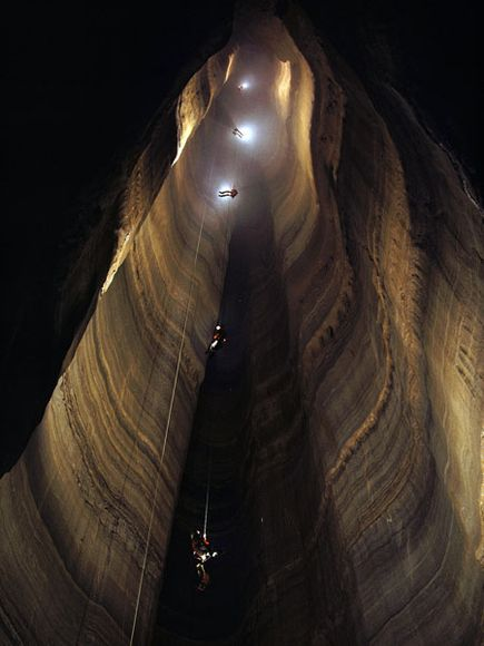Perierga.gr - Απίστευτες φωτογραφίες από σπηλιές