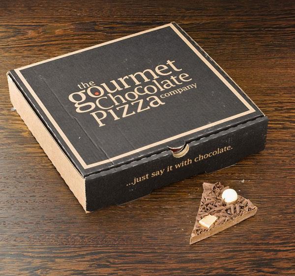 perierga.gr - Γκουρμέ πίτσα από σοκολάτα!