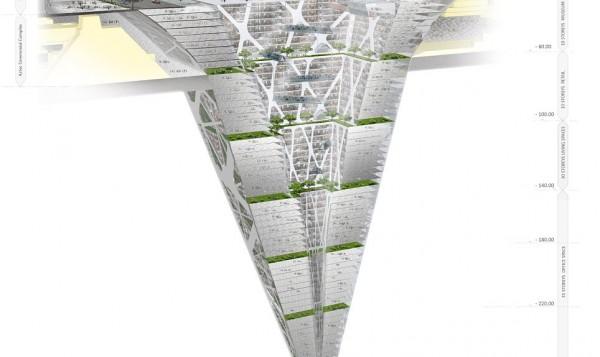 Perierga.gr - Ανάποδος ουρανοξύστης πυραμίδα