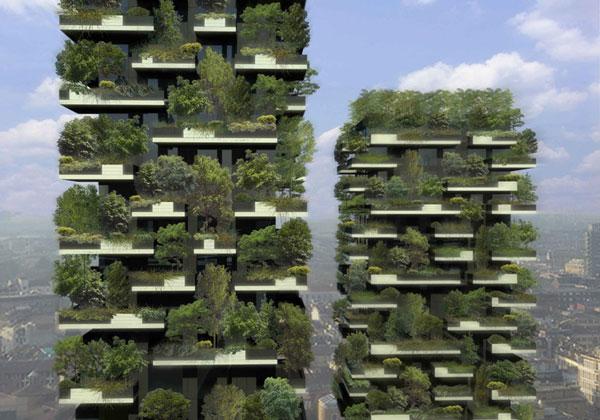 perierga.gr - Ο πρώτος κάθετος κήπος του κόσμου στο Μιλάνο