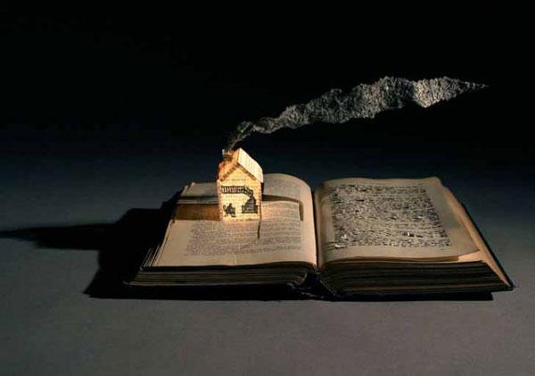 perierga.gr - Τρισδιάστατα έργα τέχνης σε σελίδες βιβλίων