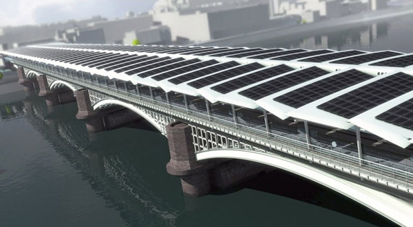 Perierga.gr - Η μεγαλύτερη ηλιακή γέφυρα