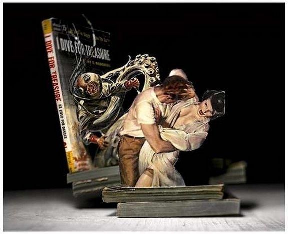 perierga.gr - Οι πρωταγωνιστές... ζωντανεύουν στις σελίδες των βιβλίων!