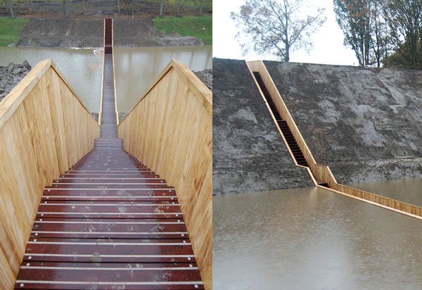 perierga.gr - Η πρώτη γέφυρα που βρίσκεται στο ίδιο επίπεδο με τη γη!