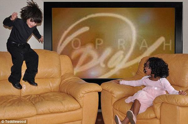 "perierga.gr - Παιδιά ""αναπαριστούν"" κλασικές στιγμές του Χόλιγουντ!"