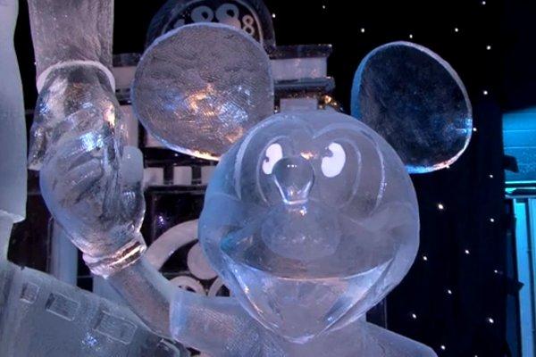 perierga.gr - Οι ήρωες του Disney από πάγο!