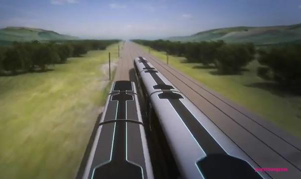 Perierga.gr - Πώς να αλλάξετε τρένο εν κινήσει