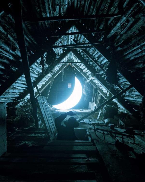 perierga.gr - Ο άνθρωπος που ερωτεύτηκε τη Σελήνη!