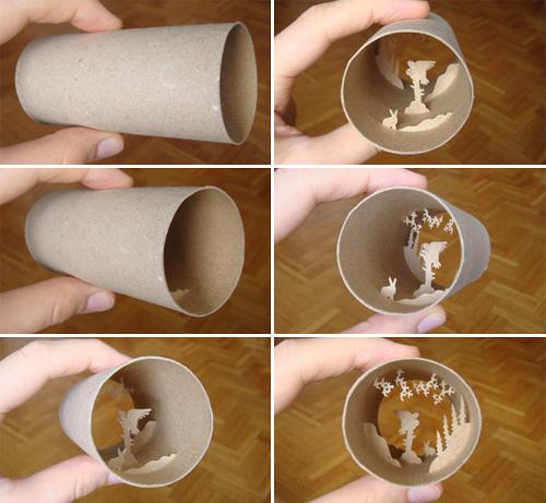 "perierga.gr - Ένα ""θέατρο σκιών"" σε χαρτί τουαλέτας!"