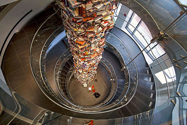 "perierga.gr - Ο ""πύργος της γνώσης"" του Αβραάμ Λίνκολν!"