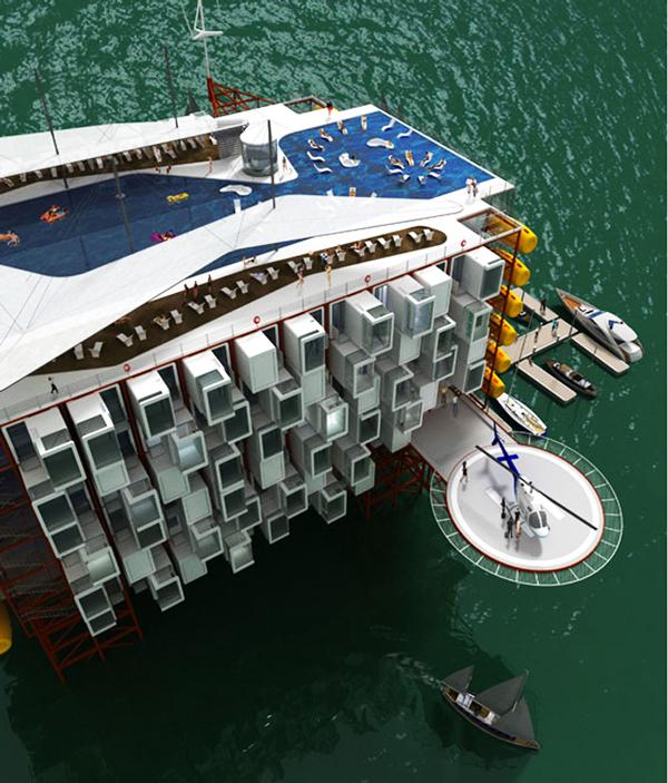 "Perierga.gr - Μια πλατφόρμα πετρελαίου ""μεταμορφώθηκε"" σε eco resort!"