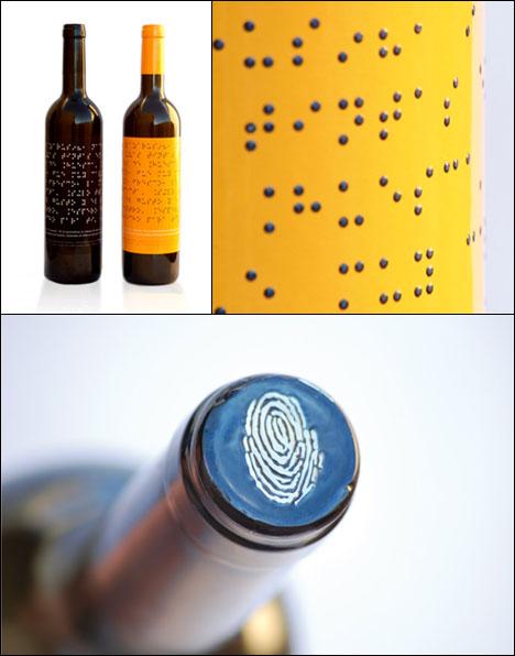 perierga.gr - Σύστημα γραφής Braille σε ετικέτα κρασιού!