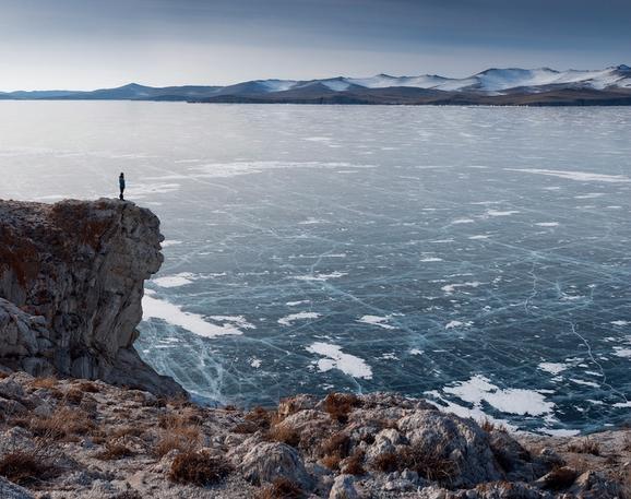 "perierga.gr - Πάγωσε η ""βασίλισσα των λιμνών""!"