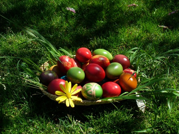 Perierga.gr - Βάψτε αυγά με υλικά που υπάρχουν στην κουζίνα σας