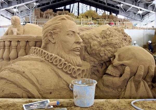 "perierga.gr - Το ""Μουσείο Άμμου"" γιορτάζει τους Ολυμπιακούς 2012!"